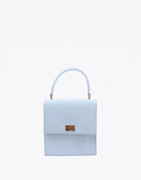 $188.00 No. 19 The Mini Lady Bag Saffiano