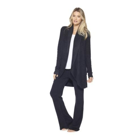 $110.00 Cozychic Lite Circle Cardigan- Black