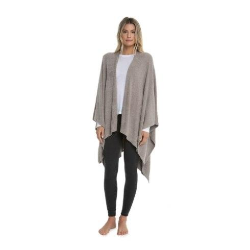 $106.00 Weekend Wrap- Driftwood Taupe