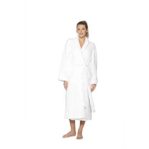 $135.00 Cozychic Adult Robe- White