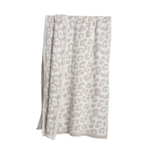 BITW Throw Cream/Stone Leopard collection with 1 products
