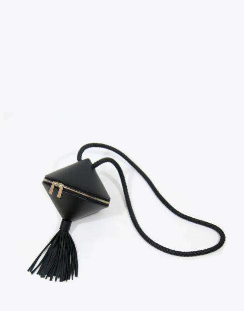 $228.00 No. 55 The Spin Top Bag Pebble