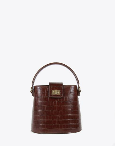 No. 56 The Kettle Bag Croc Embossed collection with 1 products