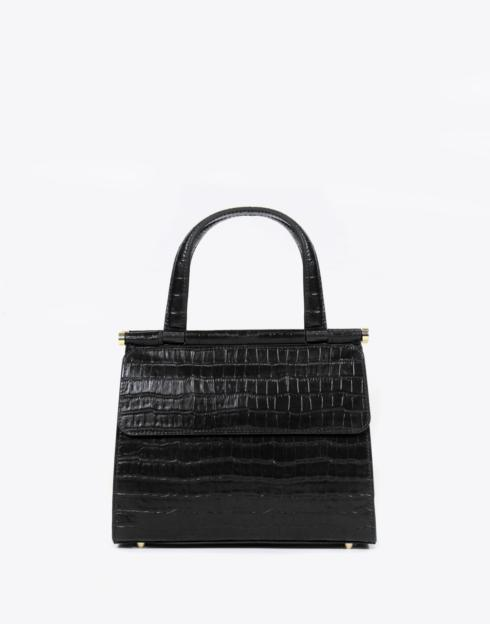 $248.00 No. 59 The Good Day Bag Croc Embossed