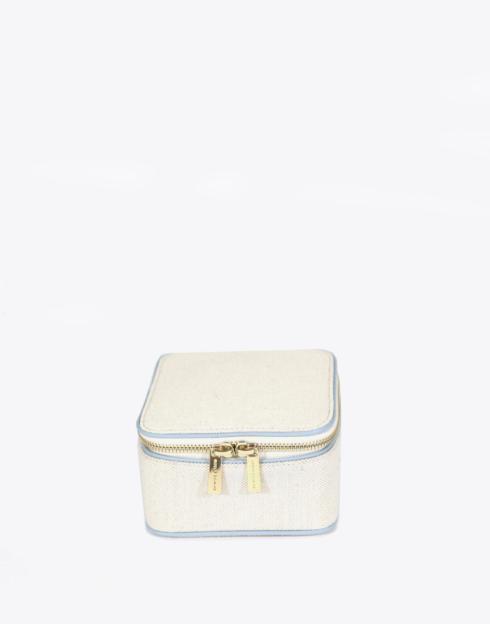 $128.00 No. 57 The Mini Jewelry Case Pebble