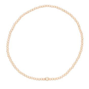 $34.00 Classic Gold 2mm Bead Bracelet