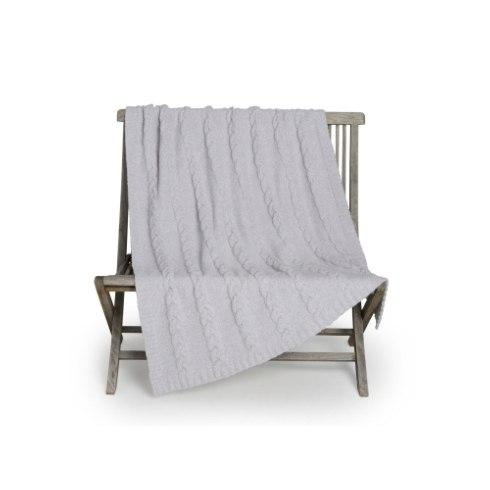 Cozychic Cable Blanket Oyster collection with 1 products