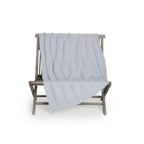 $116.00 Cozychic Cable Blanket Ocean