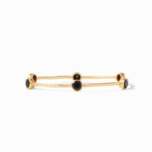 Milano Bangle- Obsidian Black- Medium collection with 1 products