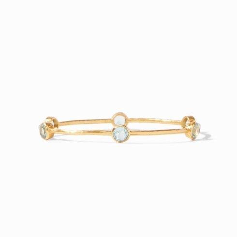 $85.00 Milano Bangle- Clear Crystal