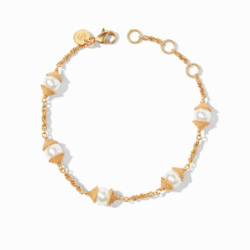$95.00 Calypso Pearl Delicate Bracelet