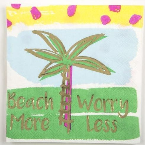 Beverage Napkins- Beach More collection with 1 products