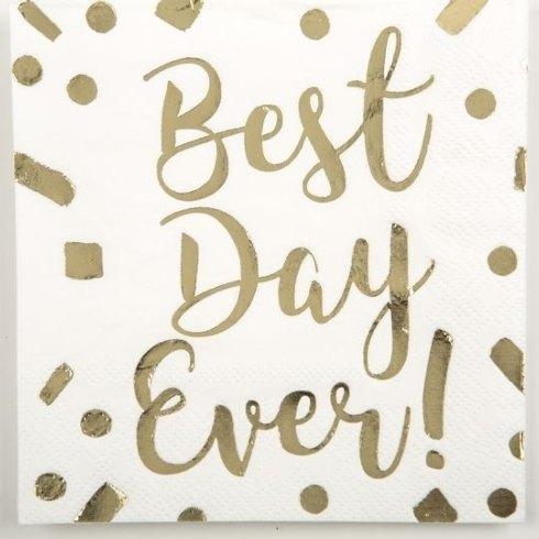 Beverage Napkin Best Day Ever collection with 1 products