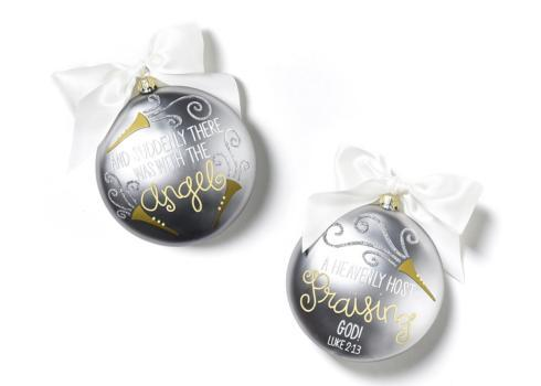 The Birth Of Christ Glass Ornament - Luke 2:13 collection with 1 products
