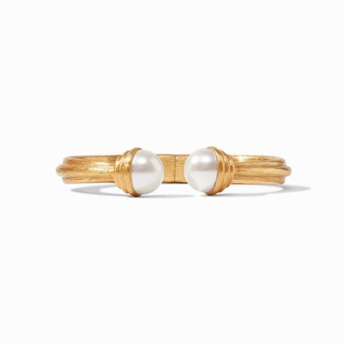 $245.00 Barcelona Hinge Cuff-Pearl