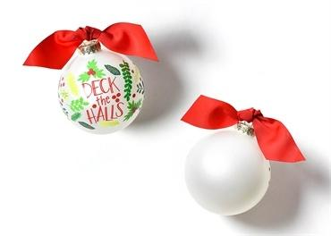 Deck The Halls Glass Ornament collection with 1 products