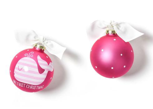 My First Christmas Ornament - Pink Whale-Disc collection with 1 products