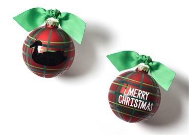 $23.93 Merry Christmas Duck Decoy Glass Ornament