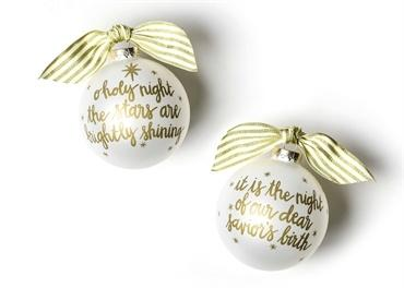 Stars Are Brightly Shining Glass Ornament collection with 1 products