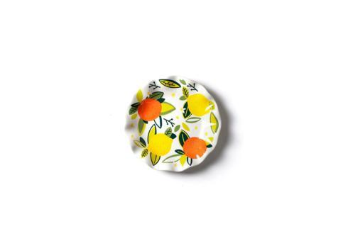 Coton Colors   Citrus Ruffle Salad Plate $19.95