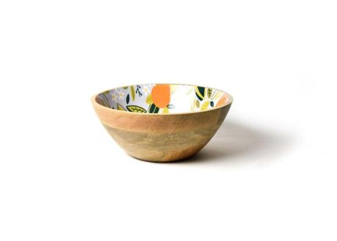 $28.09 Citrus Wooden Footed Bowl
