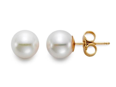 $195.00 7mm Freshwater Pearl Stud Earrings