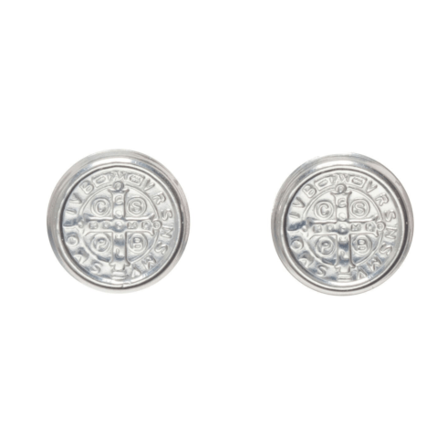 $48.00 Blessing Large Stud - Sterling