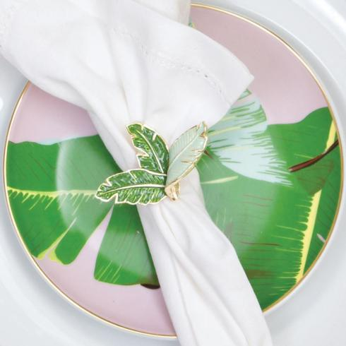 Napkin Ring Botanical Leaf collection with 1 products