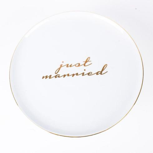 $36.00 Cake Stand- Just Married