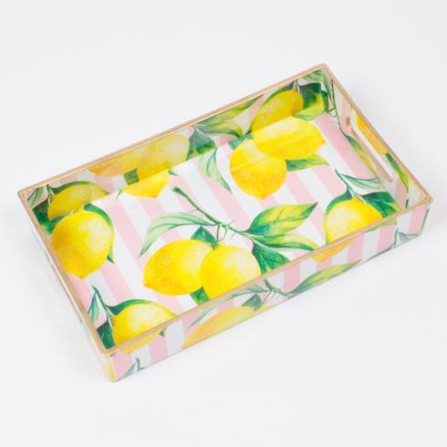 $24.00 Lemon Utensil Tray