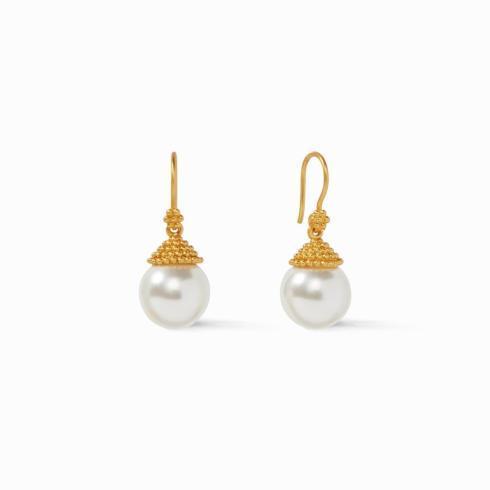 $110.00 Florentine Demi Pearl Earring