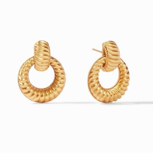 $155.00 Olympia Doorknocker Earring
