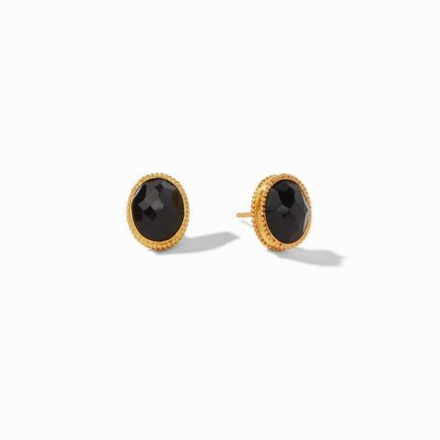 $110.00 Verona Stud Earring Black Onyx