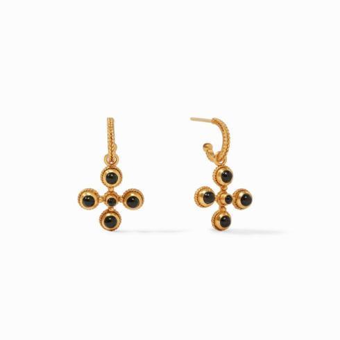 $135.00 Somerset Hoop & Charm Earring