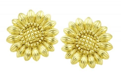 $2,550.00 Sunflower Earring