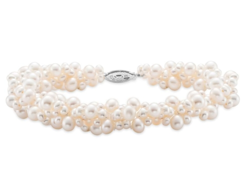 $175.00 Cluster Pearl Bracelet