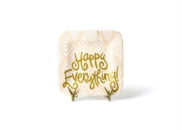 Layered Diamond Happy Everything! Mini Square Platter collection with 1 products