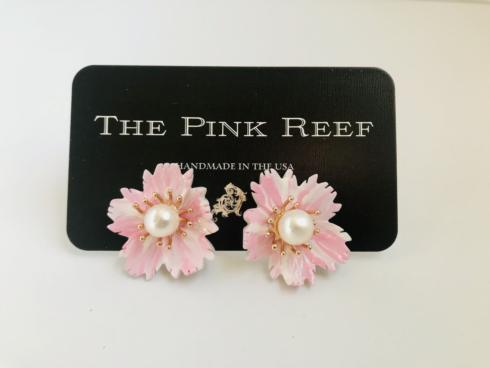 Pale Pink Hand Painted Floral on Mother of Pearl collection with 1 products