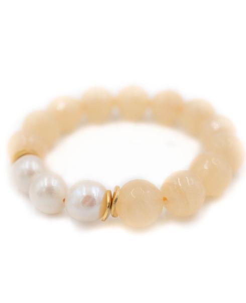 $64.00 Arden Peach Bracelet