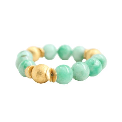 $90.00 Addison Green Jade Bracelet