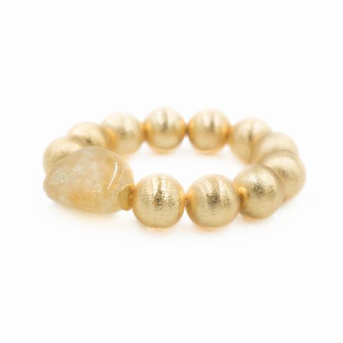 $72.00 Margot Citrine Bracelet