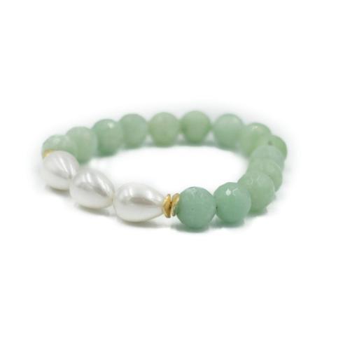 $64.00 Arden Sea Foam Bracelet