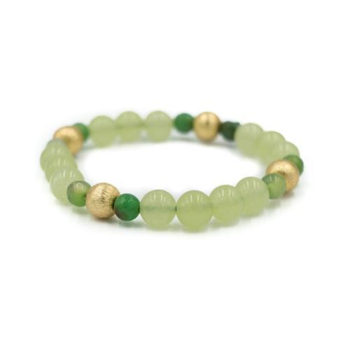 $44.00 Blossom Green Bracelet