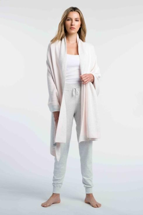 $232.00 Double Knit Throw-Shell/Whisper