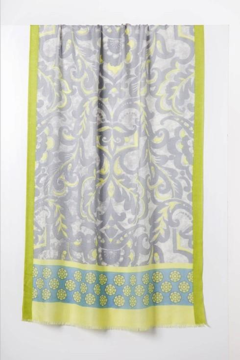 Cali Medallion Print Scarf- Citronella Multi collection with 2 products