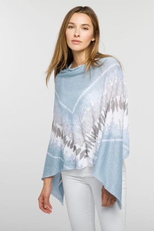 Tie Dye Poncho- Opal Multi collection with 1 products