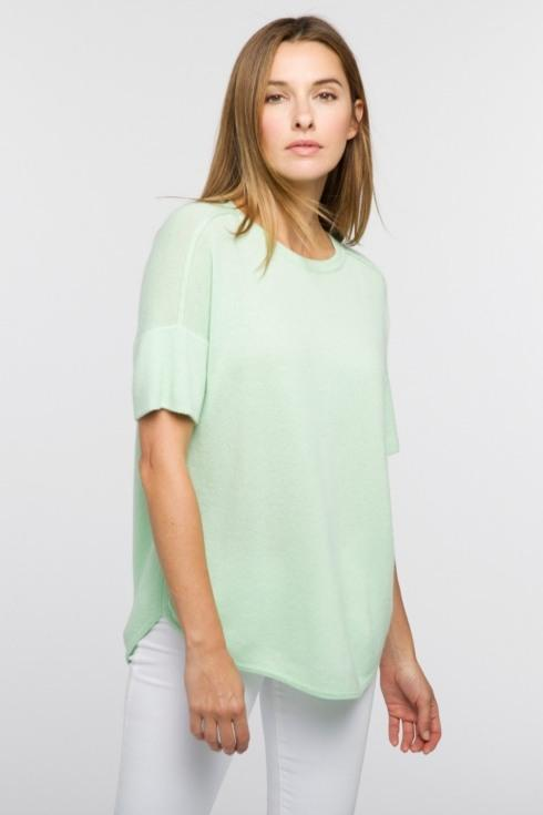 Round Hem Pullover - Medium collection with 2 products