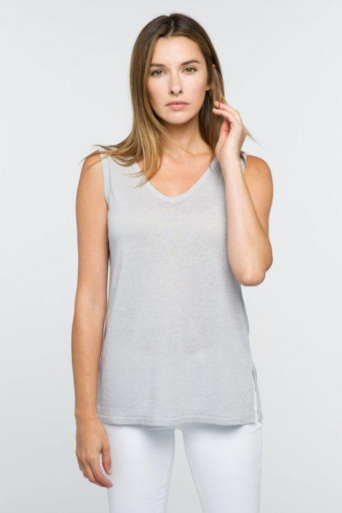 Front/Back Tank- Fossil- Medium