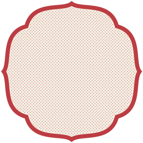 $29.00 Red Swiss Dot Placemat