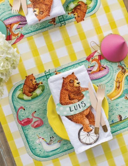 $29.00 Placemat Pool Party